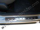 Spider Dacia Sandero 1(07-12) Kapı Eşiği 4 Prç Krom