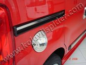 Spider Fiat Fiorino(2008) Sürgülü Kapı Çıtası 2 Prç. Krom