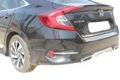Spider Honda Civic 10(2016) Arka Tampon Eşiği Krom