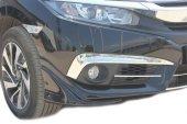 Spider Honda Civic 10(2016) Sis Farı Kaşı 2prç. Krom
