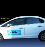 Spider Honda Civic 9(12 15) Cam Çıtası 6 Prç Krom