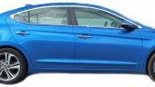 Spider Hyundai Elantra 6(2016) Cam Çerçevesi 14 Prç Krom