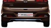 Spider Hyundai İ20(2014) Bagaj Alt Çıtası Hb 5d Krom