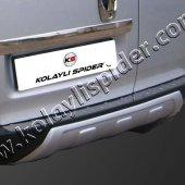Spider Peugeot Bipper(2008) Arka Tampon Eşiği Krom