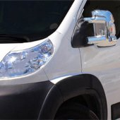 Spider Peugeot Boxer 3(06 14) Ayna Kapağı 2 Prç Abs Krom