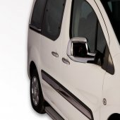 Spider Peugeot Partner 1(96 08) Ayna Kapağı 2 Prç Abs Krom