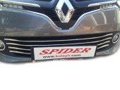 Spider Renault Clıo Iv Sport Tourer(2013) Ön Tampon Çıtası 6 Prç Krom