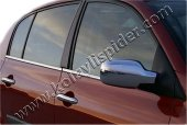 Spider Renault Megane Iı(03 08) Ayna Kapağı 2 Prç Abs Krom