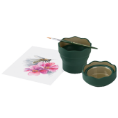 Faber Su Kabı Fırça Temizleme Yeşil
