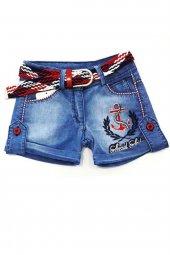 Denizci Kız Çocuk Kot Şort