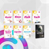 10.sınıf Tüm Dersler Soru Kitabı Seti+nutuk Kitabı Hediyeli Palme Kitabevi