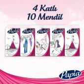 Papia Moda Başkentleri Cep Mendil 10lu