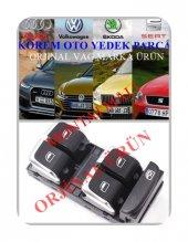 8k0959851f Audi A4 A5 Q5 Q3 Cam Düğmesi Ön Sol 4lü 2008