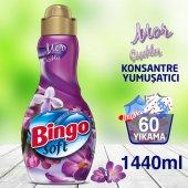 Bingo Soft Konsantre Çamaşır Yumuşatıcısı Mor...