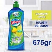Bingo Elde Bulaşık Deterjanı Dalından Limon 675...
