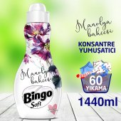 Bingo Soft Konsantre Çamaşır Yumuşatıcısı Manolya Bahçesi 1440 Ml