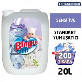 Bingo Soft Çamaşır Yumuşatıcısı Sensitive 5 L Ekonomi Paketi 4lü