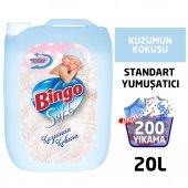 Bingo Soft Çamaşır Yumuşatıcısı Kuzumun Kokusu 5 L Ekonomi Paketi 4lü