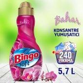 Bingo Soft Konsantre Çamaşır Yumuşatıcısı Bahar...