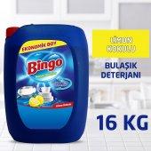 Bingo Bulaşık Sıvısı 4 Kg Limon 4lü
