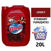 Bingo Soft Standart Çamaşır Yumuşatıcısı Lovely 5 L 4lü