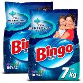 Bingo Matik Toz Çamaşır Deterjanı Renkli & Beyaz 7 kg 2li-2