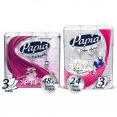 Papia Egzotik Tuvalet Kağıdı Jumbo Paket 48...