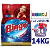 Bingo Matik Toz Çamaşır Deterjanı 7 kg Renkli 2li