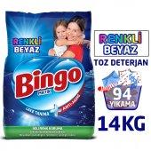 Bingo Matik Toz Çamaşır Deterjanı Renkli & Beyaz 7 Kg 2li
