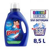 Bingo Matik Sıvı Performans Çamaşır Deterjanı 2145 ml 33 Yıkama Renkli & Beyaz 4lü