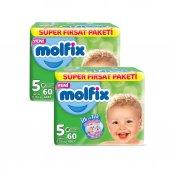 Molfix Bebek Bezi 5 Beden Junior Aylık Fırsat Paketi 120 Adet-2