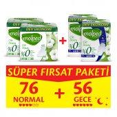 Molped Pure&soft Normal 34 Adet X 2 + Gece 24 Adet X 2 Süper Fırsat Paketi