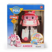 Neco 83095 Poli Car Işıklı Transformers Robot Figür Amber