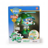 Neco 83096 Poli Car Işıklı Transformers Robot Figür Helly