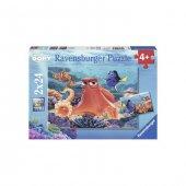 Ravensburger 091034 2x24 Çocuk Puzzle Wd F Dory