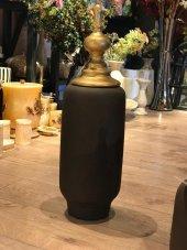Kapaklı Seramik Vazo