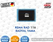 Lastik Yaması Rema Rad 116 Radyal Yama 104x67 Mm