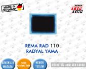 LASTİK YAMASI REMA RAD 110 RADYAL YAMA 75x55 MM (Logosuz)