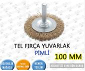 TEL FIRÇA YUVARLAK PİMLİ