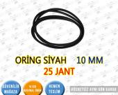 ORİNG SİYAH 10 MM 25 JANT
