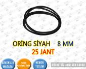 Oring Siyah 8 Mm 25 Jant