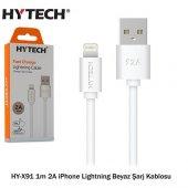 Hytech Hy X91 1m 2a İphone Lightning Şarj Kablosu