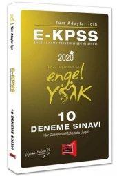 Yargı Yayınları 2020 E Kpss Tüm Adaylar İçin 10 Deneme Sınavı