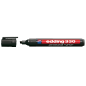 Edding E 330 Siyah Permanent Markör Kalemi 10 Lu Ed33001 (1 Paket 10 Adet)