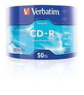 Verbatim Cd R 80 Dk 700 Mb 52x 50 Li (50 Adet)