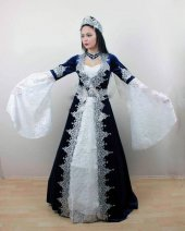 5 Parça Kaftan Bindallı Kına Elbisesi Mira