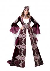 5li Bindallı Kına Elbisesi Şahsultan