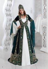 Bindallı Kına Elbisesi 5 Parça Nazende