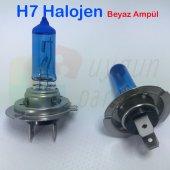 Beyaz H7 Halojen Far Ampülü A Kalite (12 V 100 Watt) - Hediyeli !