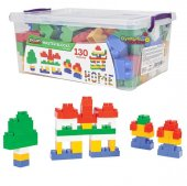 Pilsan Master Bloklar 130 Parça Çocuk Lego Seti...